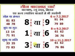 Kalyan Chart Record Jodi Bedowntowndaytona Com