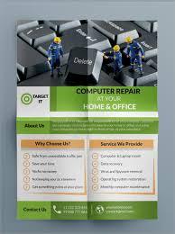 27 Best Computer Repair Flyer Templates Word Psd Ai