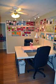 craft room lighting. the meticulously appointed craft room with abundant natural and overhead lighting provides our guests everything they need to spread out allow f