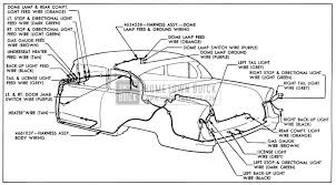 1955 buick wiring diagrams hometown buick 1955 buick body wiring circuit diagram model 48 style 4411