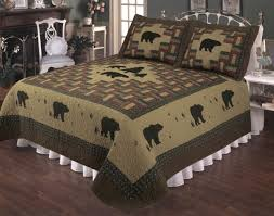 Bear Appalachian Quilt Set & Black Bear Appalachian Quilt Set Adamdwight.com
