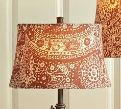 pottery barn lampshades red paisley drum lamp shade pottery barn lamp shade doesnt fit pottery barn lampshades