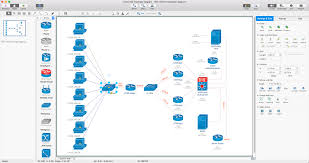 cisco network diagrams solution conceptdraw com setup airport express to extend wireless network at Apple Network Diagram