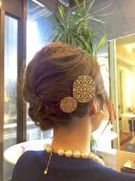 結婚式 ボブアレンジ 編み込み セット ざっくりの髪型 Stylistd