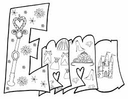 Click on princess coloring pictures below for the printable princess coloring page. Emma Free Printable Princess Coloring Page Stevie Doodles