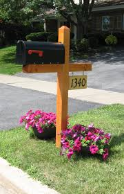 wood mailbox ideas. Wood Mailbox Post Designs Ideas