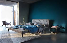 Monochromatic Style In The Bedroom One Color Many Meanings - Dark blue bedroom