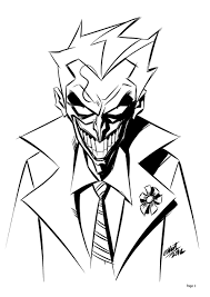15 Disegni Da Colorare E Stampare Joker Migliori Pagine Da