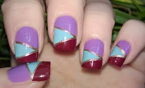 DIY MOSAIC NAILS Without Tools! - Easy Nail Art Designs Step By ...