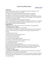 writing a cause and effect essay examples writing a cause and effect essay examples 4 ideas collection writing a cause and effect essay