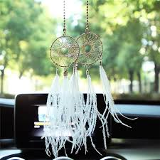 Dream Catcher For Car Mirror Delectable Fashion Car Pendant Feather Dream Catcher Wind Chimes Decoration