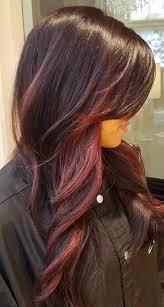 Burgundy Balayage For Brown Hair Burgundy