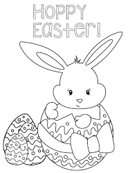 Small Picture Easter Coloring Pages Hoppyeastercoloringpage adult