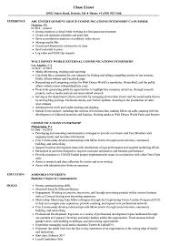 Communications Internship Resume Samples Velvet Jobs