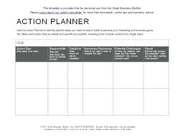Template Of An Action Plan – Custosathletics.co