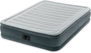 <b>Intex</b> Comfort Plush <b>Mid Rise</b> Dura-Beam <b>Airbed</b> with Built-in Electric ...