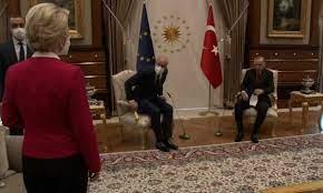 Ursula von der Leyen snubbed in chair gaffe at EU-Erdoğan talks | European  commission