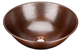 copper bowl sink. Brilliant Copper Sinkology BRV1606BC Eddington Handmade Pure Solid Vessel Sink 16u0026quot  Aged Copper For Bowl Sink L