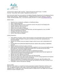 Other Sample Job Descriptions Cover Letter Office Engineer Central