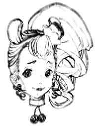 大人の塗り絵25次元キュアカスタード ニコニコ静画 イラスト