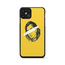 Yellow Girl Aesthetic iPhone 12 Pro Max 2D Case - XPEREN
