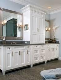 bathroom cabinet remodel. Distressed Black Vanity With Mirror And Granite Top White Sink. $1,700.00, Via Etsy.   For The Home Pinterest Vanity, Sink Bathroom Cabinet Remodel T
