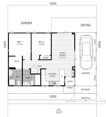 one story bedroom house plans tiny smartness simple bath design custom single homes level floor plan two with garage small style ranch home designs open