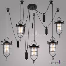 5 light down lighting indoor outdoor black lantern style led pendant takeluckhome com