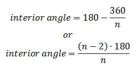 exterior angle formula for polygons. unlock content exterior angle formula for polygons e