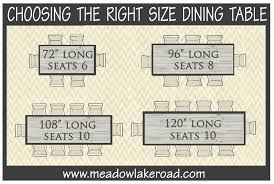 rectangular dining table size for 6. dining table sizes rectangular size for 6