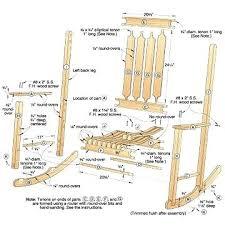 rocking chair woodworking plans menwhostareatplantsinfo