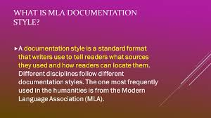 Mla Format Modern Language Association What Is Mla Documentation