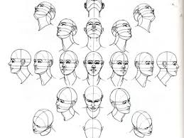 Face Perspective Chart The Head At Various Angles In Perspective Beautiful