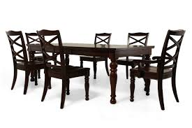 seven piece dining set: ashley porter seven piece dining set