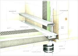 shower drain p trap basement shower drain how to install shower drain install shower drain for