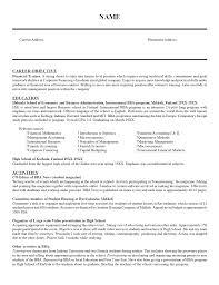 Sample Teaching Resume Resume Templates