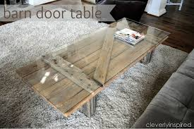 barn door table by clevery inspired photo credit cleverlyinspired com