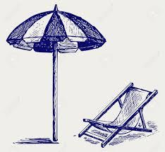 back of beach chair silhouette. Back Of Beach Chair Silhouette