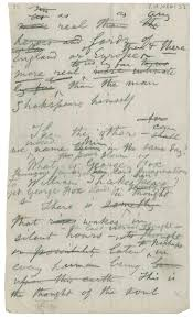 catalog of the walt whitman literary manuscripts in folger content a manuscript for a portion of whitman s essay george fox and shakspere which first appeared as the final piece in boughs 1888 and