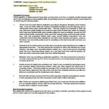 truck driver evaluation form semi truck driver job description fred resumes