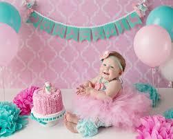1st birthday banner first birthday banner 1st birthday girl 1st birthday etsy