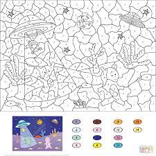 Wonderful Color The Number Worksheet Easy By Free Printable