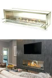 alcohol burning fireplace insert ethanol wall mount burner