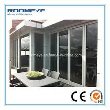 china roomeye high quality well aluminium frameless glass folding door china doors bi folding doors