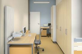 office colour design. Rendering: Colour Design Of A Small Office Orientated North H