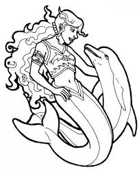 Mermaid Coloring Pages Free Download Best Mermaid Coloring Pages