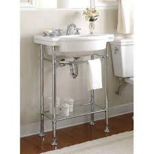 awesome glass and chrome console table with american standard retrospect console table legs in polished chrome