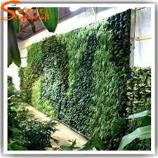 plant wall decor garden vertical green grass wall factory artificial hanging wall for plants decor