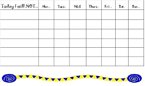 behavior charts for preschoolers template free printable behavior charts for home and school chart template