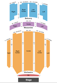Kirby Center For The Performing Arts Seating Chart Wilkes